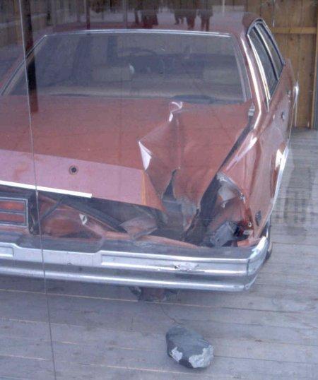 Автомобиль, дыра и Пикскильский метеорит